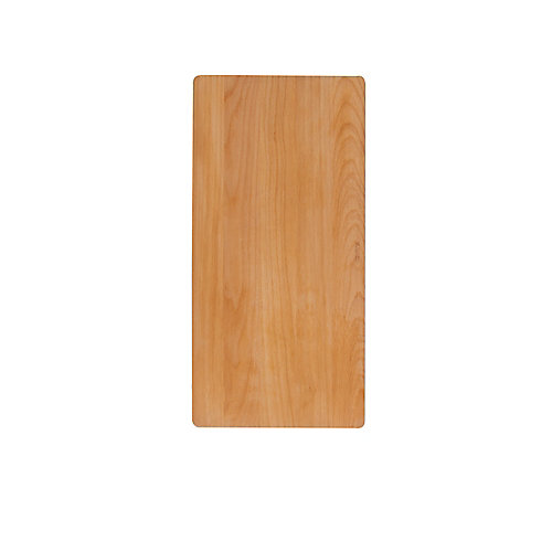 Precis With Drainboard Cutting Board Beech