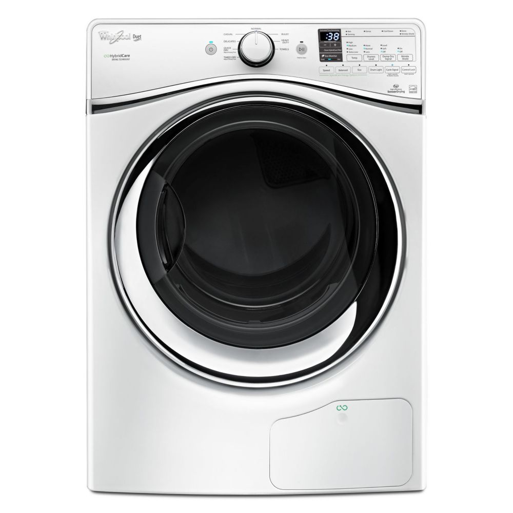 7.3 cu. ft. HybridCare� Duet<sup>®</sup> Dryer with Heat Pump Technology in White