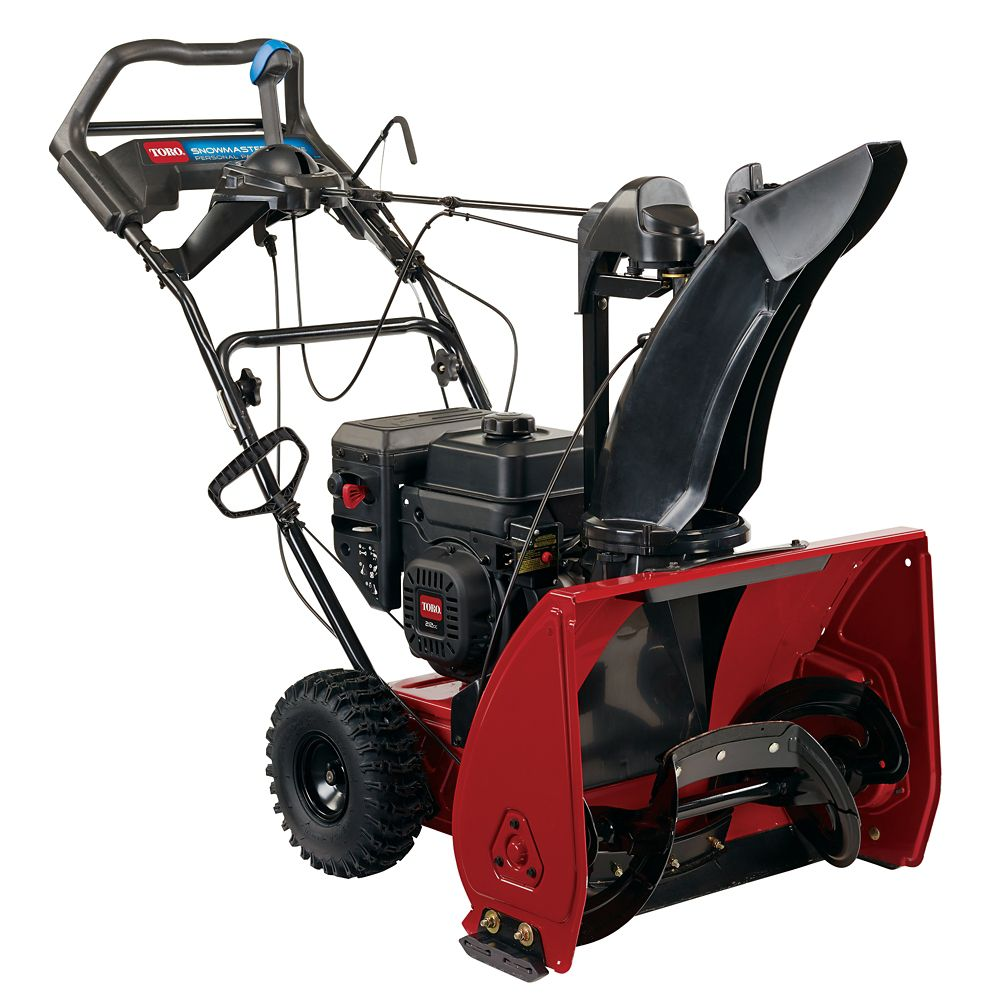 SnowMaster 724 QXE Electric Snow Blower with 24-inch Clearing Width