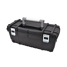 24-inch Latching Toolbox in Black