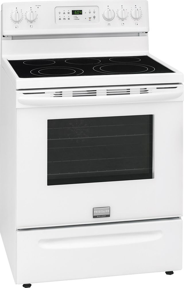 5.7 cu. ft. Free-Standing Electric Range in White