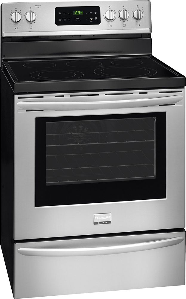 5.7 cu. ft. Free-Standing Electric Range in Stainless Steel