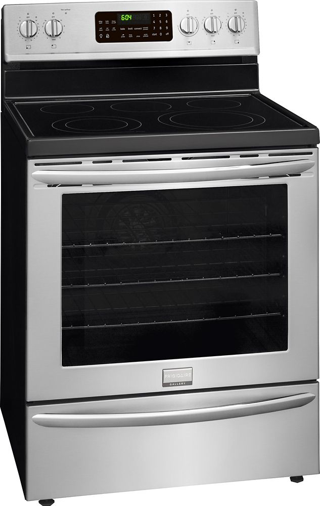 5.8 cu. ft. Free-Standing Electric Range in Stainless Steel