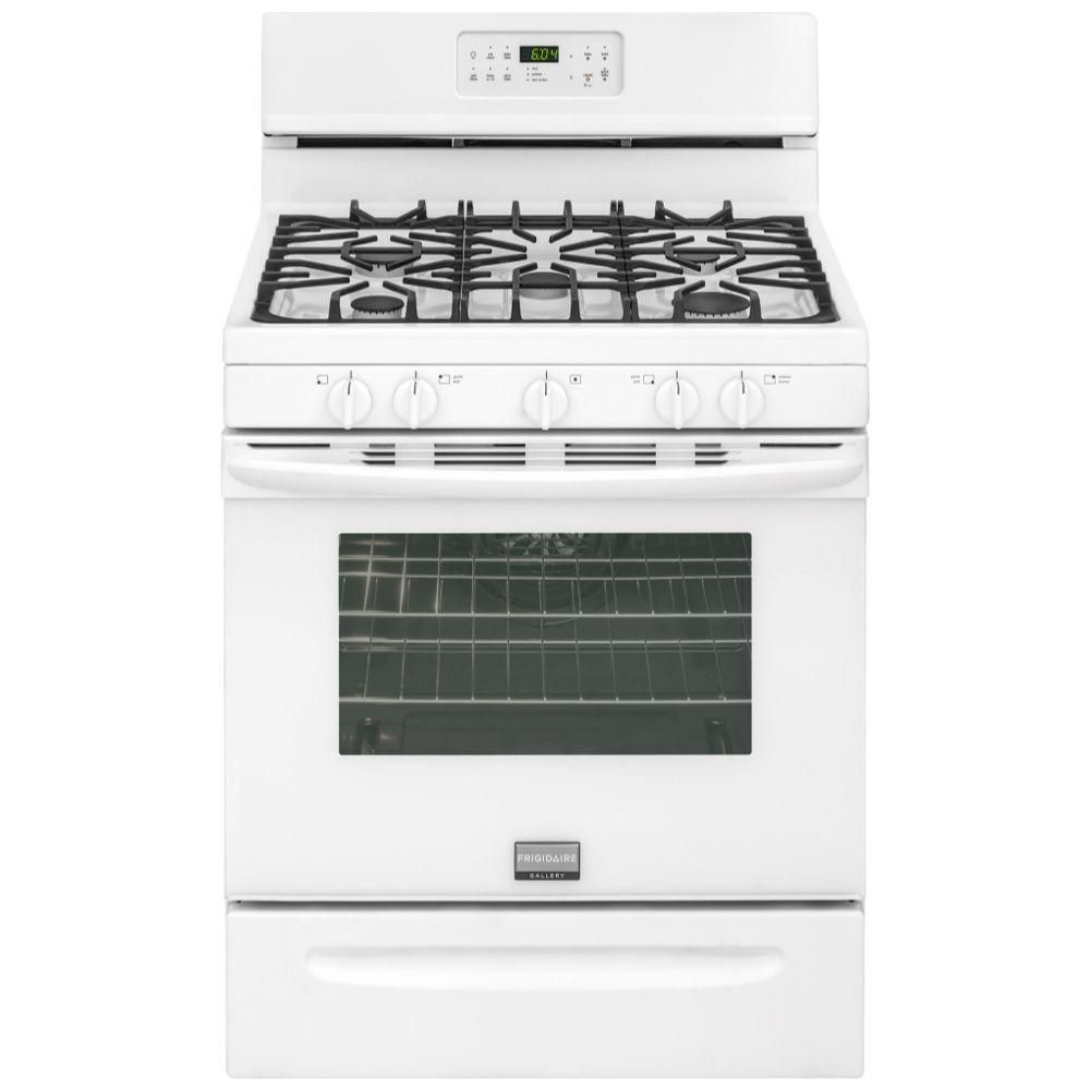 Gallery 5.0 cu. ft. Gas Range in White
