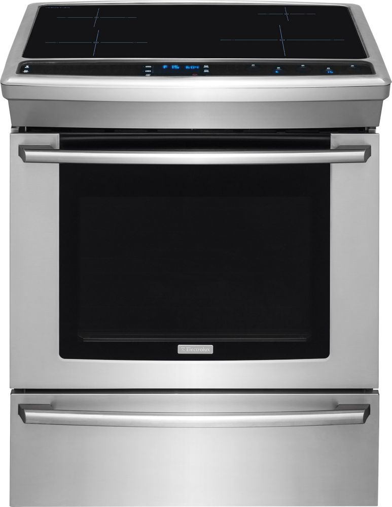 Electrolux 4.5 cu. ft. Slide-in Induction Range in Stainless Steel