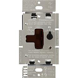 Lutron Ariadni 150-Watt Single-Pole/3-Way LED/CFL Dimmer, Brown