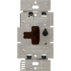 Lutron Ariadni 150-Watt Single-Pole/3-Way LED/CFL Dimmer, Brown