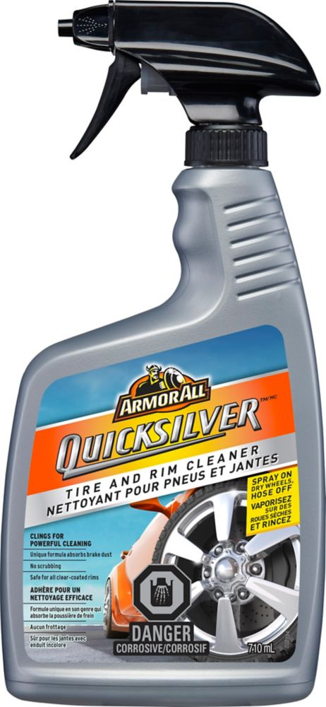 Armor All Quicksilver Rim and Tire Cleaner 710mL