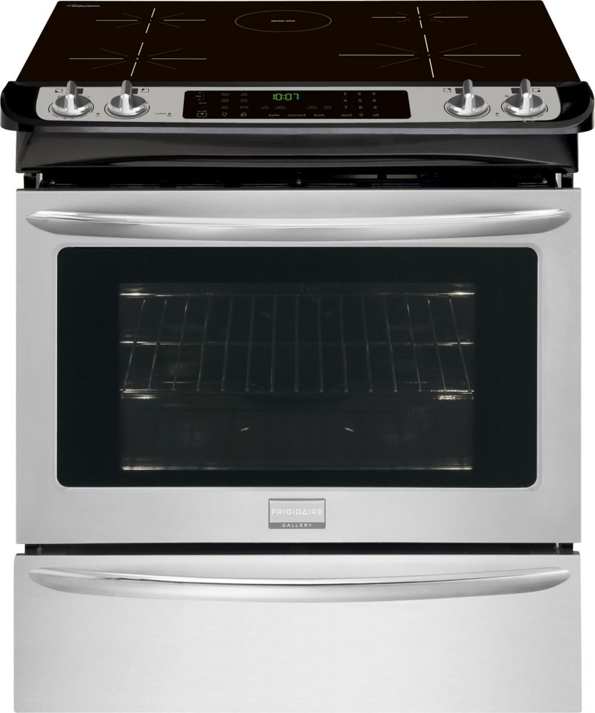 Gallery 4.2 cu. ft. Slide-in Induction Range in Stainless Steel