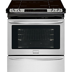 Gallery 4.6 cu. ft. Slide-in Induction Range in Stainless Steel