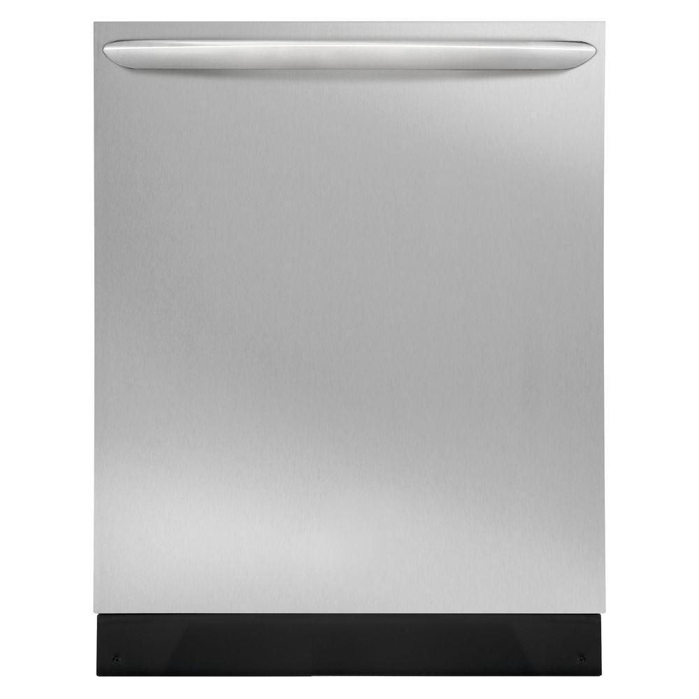 Frigidaire gallery gallery 24 inch built in dishwasher in stainless steel the home depot canada - Built in microwave home depot ...