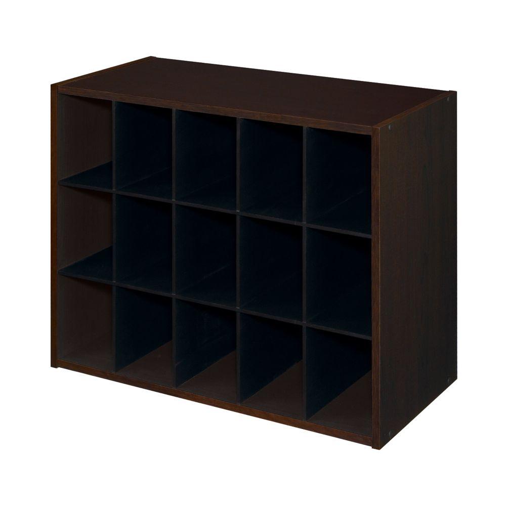 15 Cube Organizer Espresso