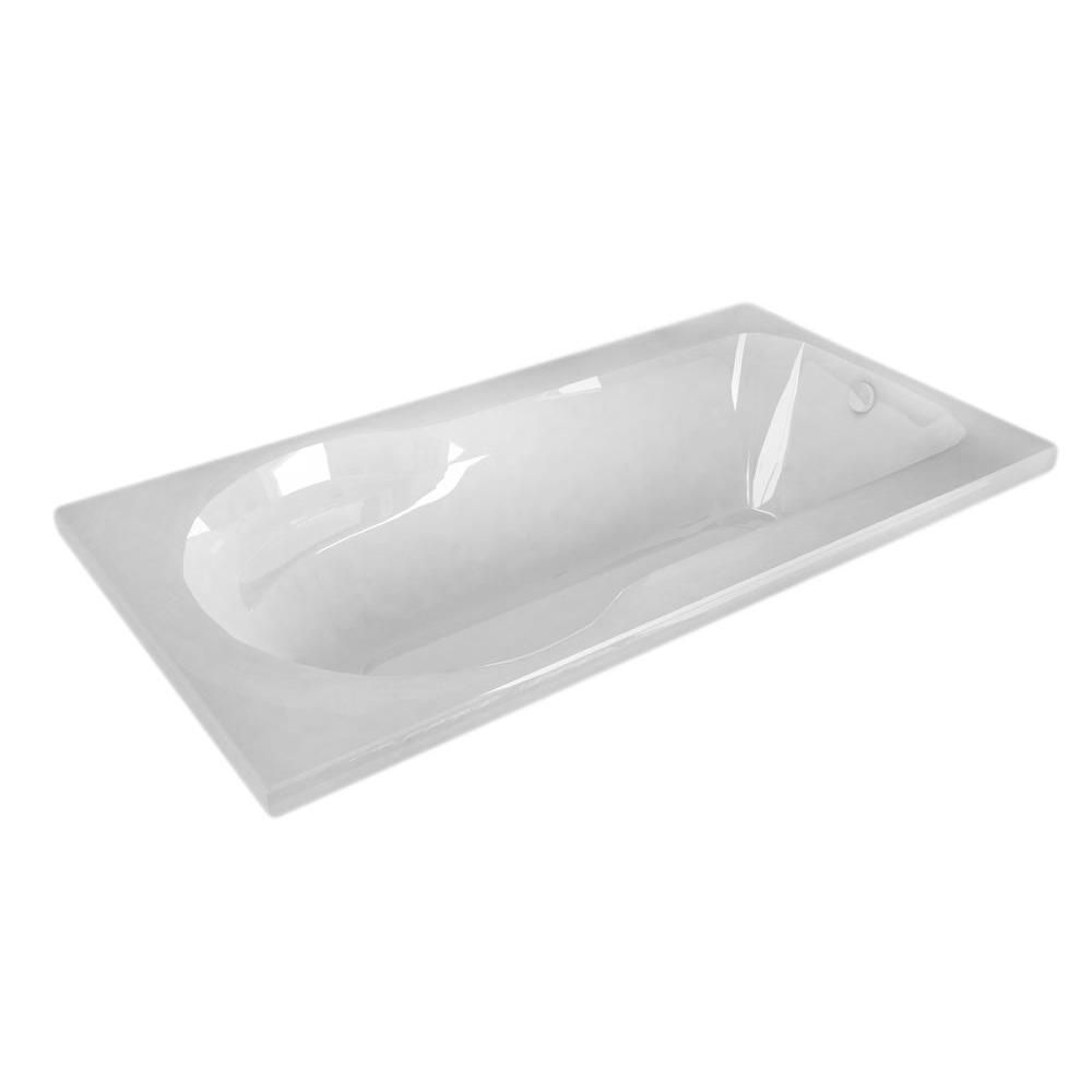 Zircon 32 X 60 Rectangular Soaking Bathtub HD3260ZS Canada Discount