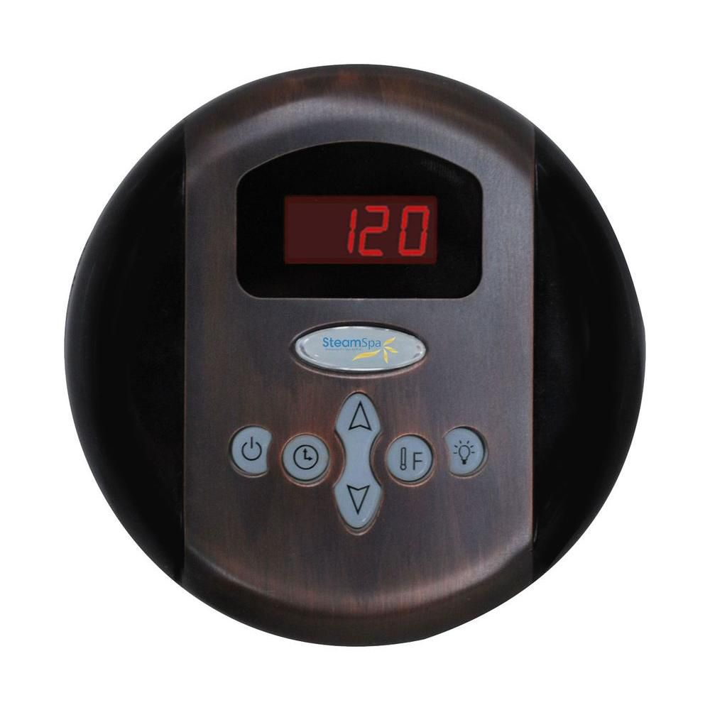 Programmable Control Panel with Presets in Oil Rubbed Bronze