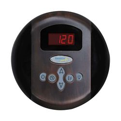 Steamspa Programmable Control Panel with Presets in Oil Rubbed Bronze