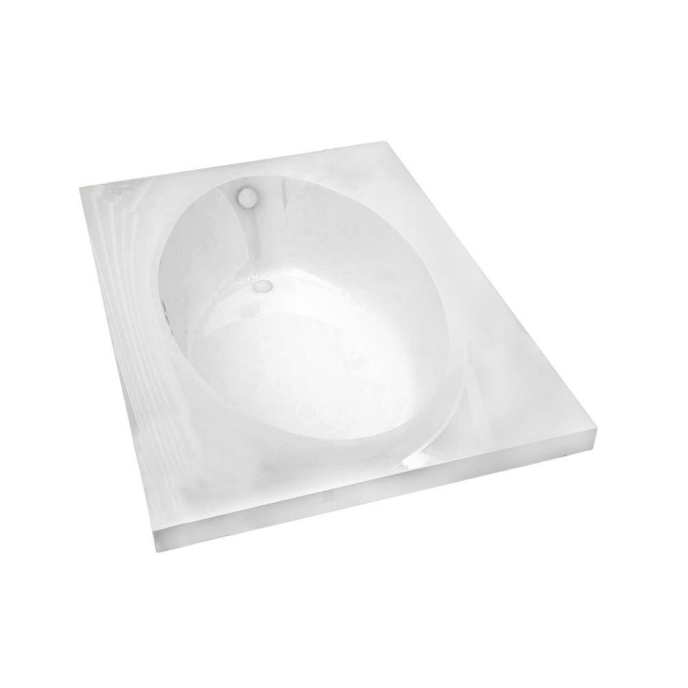 Imperial 5 Feet Rectangular Soaker Bathtub