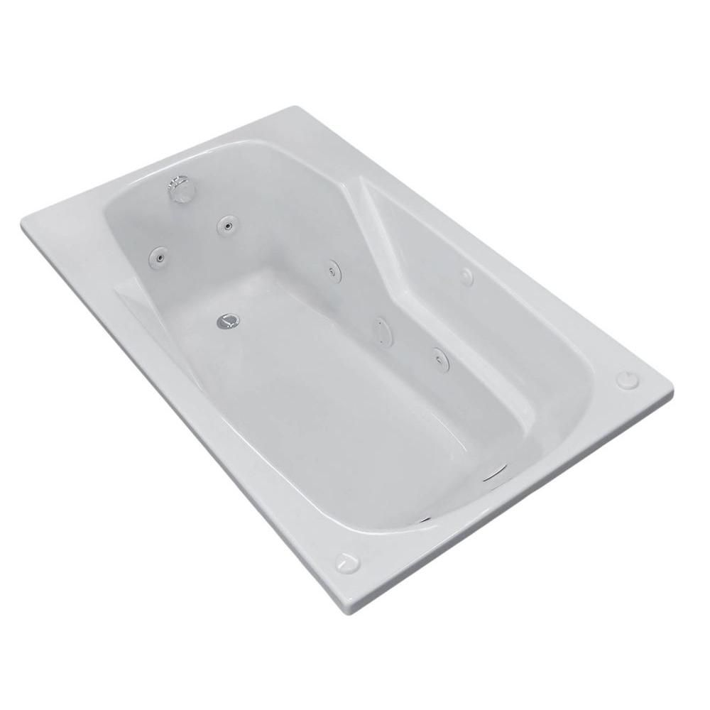 Coral 32 X 60 Rectangular Whirlpool Jetted Bathtub HD3260EWR Canada Discount