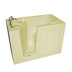 Universal Tubs 4 Feet 6-Inch Walk-In Bathtub in Biscuit