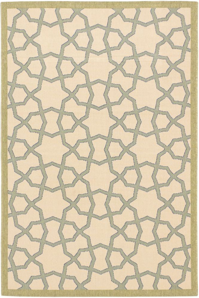 Tropicana Ivory Rug - 6 Ft. 7 In. x 9 Ft. 5 In. 142959 Canada Discount