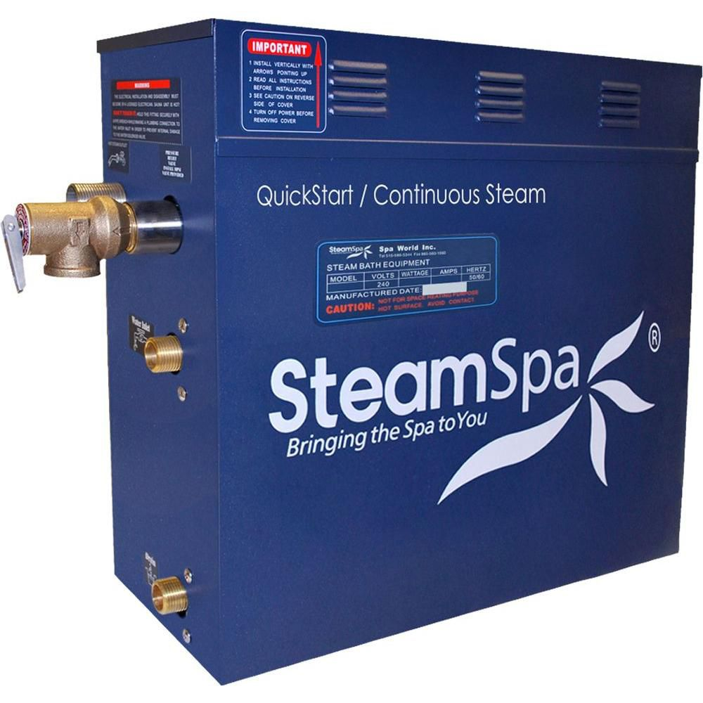 Steamspa 7.5 KW QuickStart Steam Bath Generator