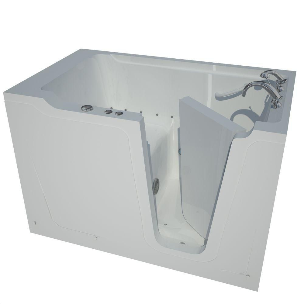 36 x 60 Right Drain White Air Jetted Walk-In Bathtub HD3660RWA Canada Discount