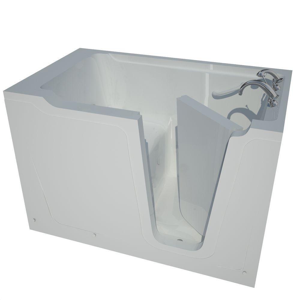 36 x 60 Right Drain White Soaking Walk-In Bathtub HD3660RWS in Canada