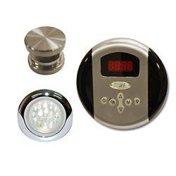 Steamspa Indulgence Control Kit in Brushed Nickel
