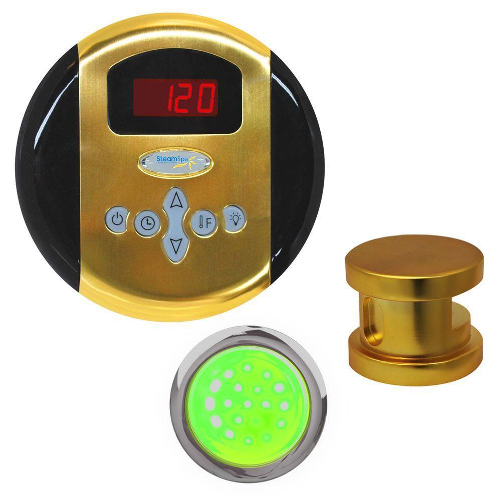 Indulgence Control Kit in Polished Brass