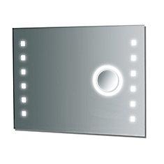 36-inch W x 28-inch L Fog Free Frameless Wall Mirror