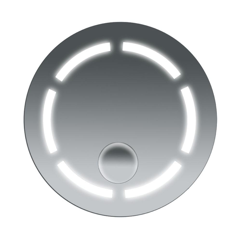Miroir de salle de bains antibuée rond