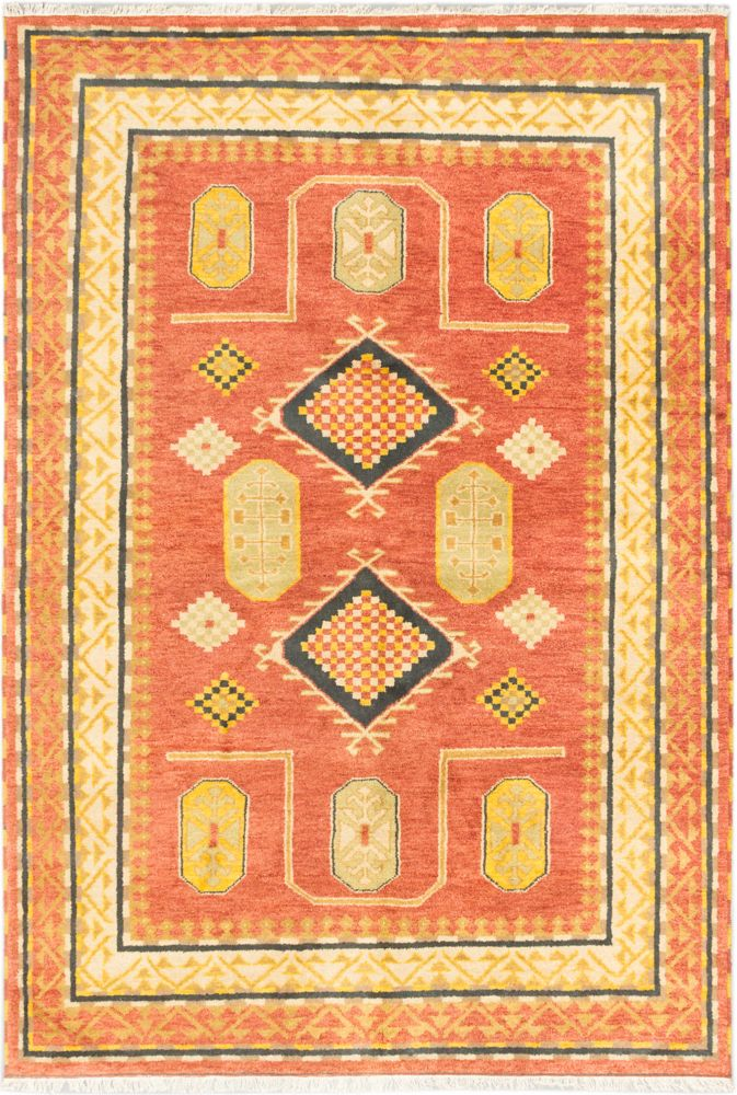 Hand-knotted Royal Avery Rug - 6 Ft. 7 In. x 9 Ft. 8 In.