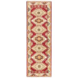 ECARPETGALLERY Hand-Knotted Royal Avery Beige Tan 2 ft. 9-inch x 8 ft. 5-inch Indoor Traditional Runner