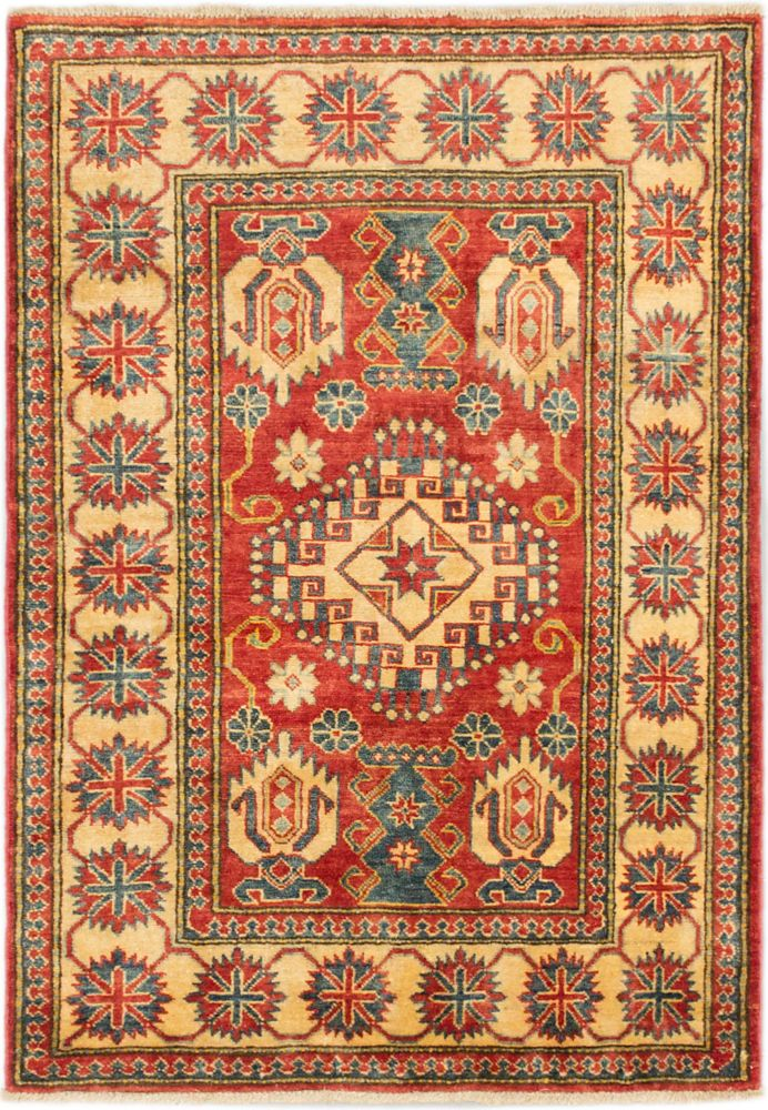 Hand-knotted Tamar Rug - 3 Ft. 6 In. x 5 Ft. 1 In.