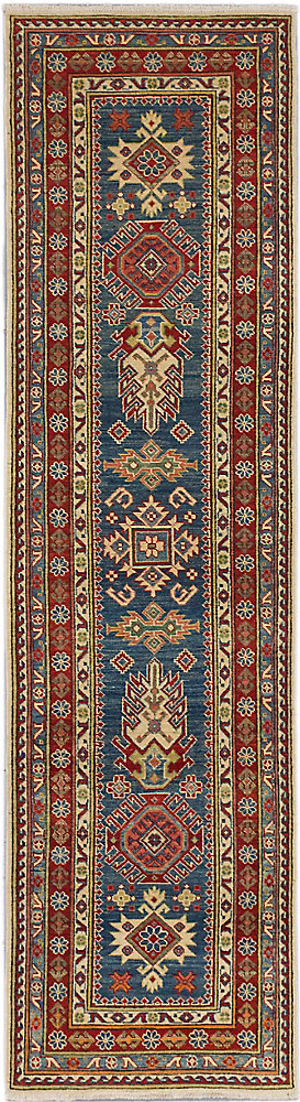 Hand-Knotted Tamar Multi-Colour 2 ft. 7-inch x 9 ft. 9-inch Area Rug