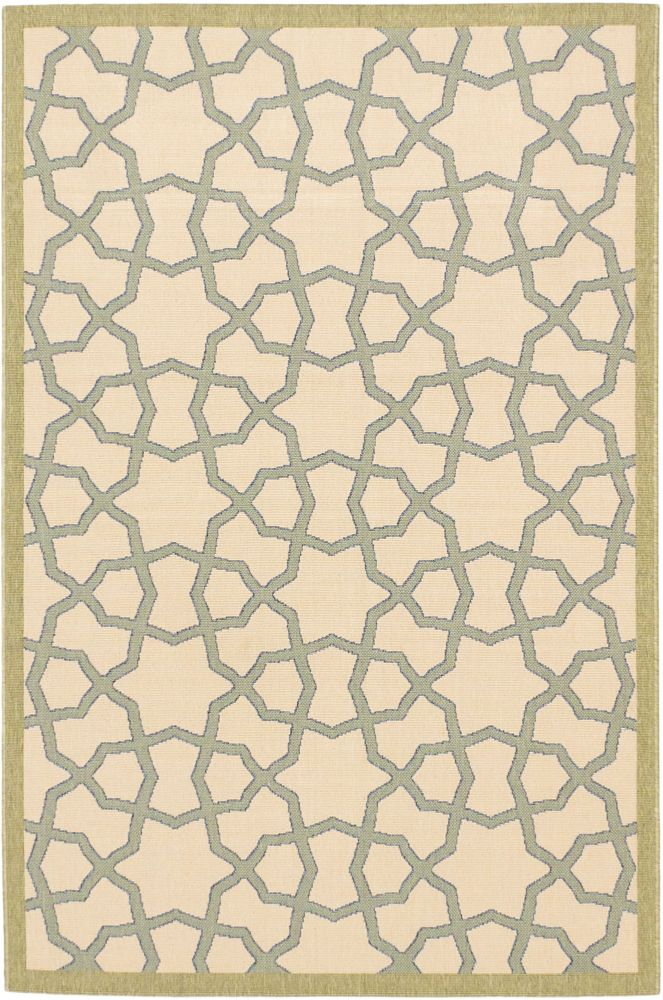 Tropicana Ivory Rug - 4 Ft. 11 In. x 7 Ft. 5 In. 142958 Canada Discount