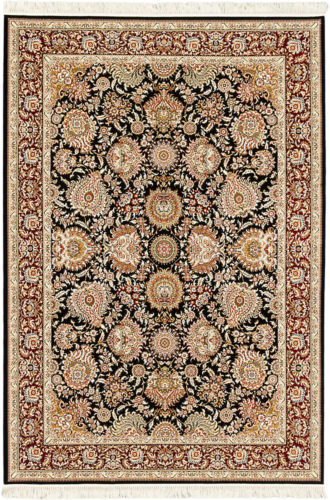 Hand Loomed King David Brown 7 ft. 10-inch x 11 ft. 2-inch Rectangular Area Rug