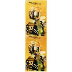 ECARPETGALLERY Punk Yellow 2 ft. 8-inch x 7 ft. 8-inch Area Rug
