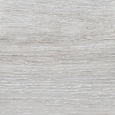 8.7 in. x 60 in. Flamed Oak White Luxury Vinyl Plank Flooring (Sample)