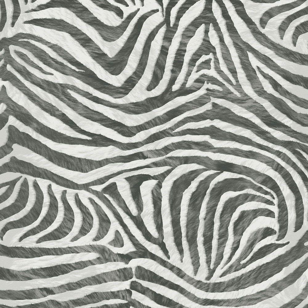 Zebra Black/White Wallpaper