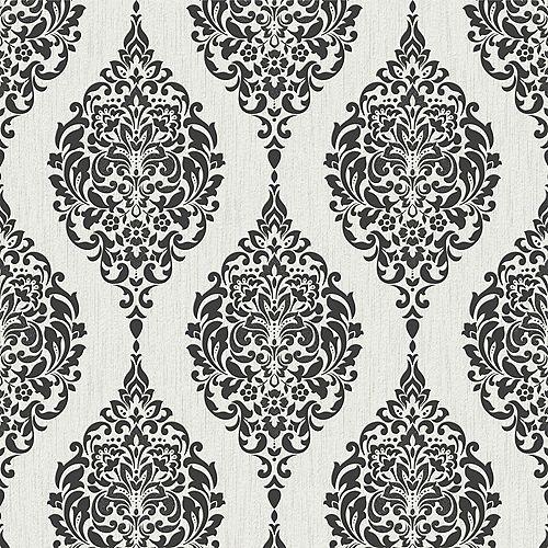 Graham & Brown Luna Black/White Wallpaper