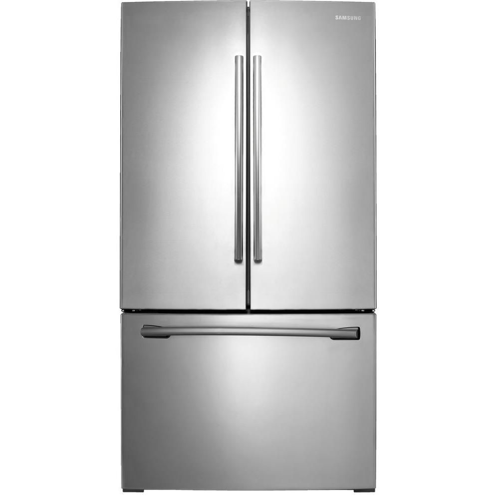 26 cu. ft. 3-Door French Door Refrigerator with Twin Cooling Plus in Stainless Steel