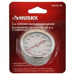 HUSKY Back Mount Gauge 0-160 PSI