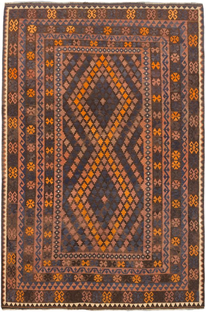 Hand woven Sivas Kilim - 6 Ft. 7 In. x 9 Ft. 10 In.