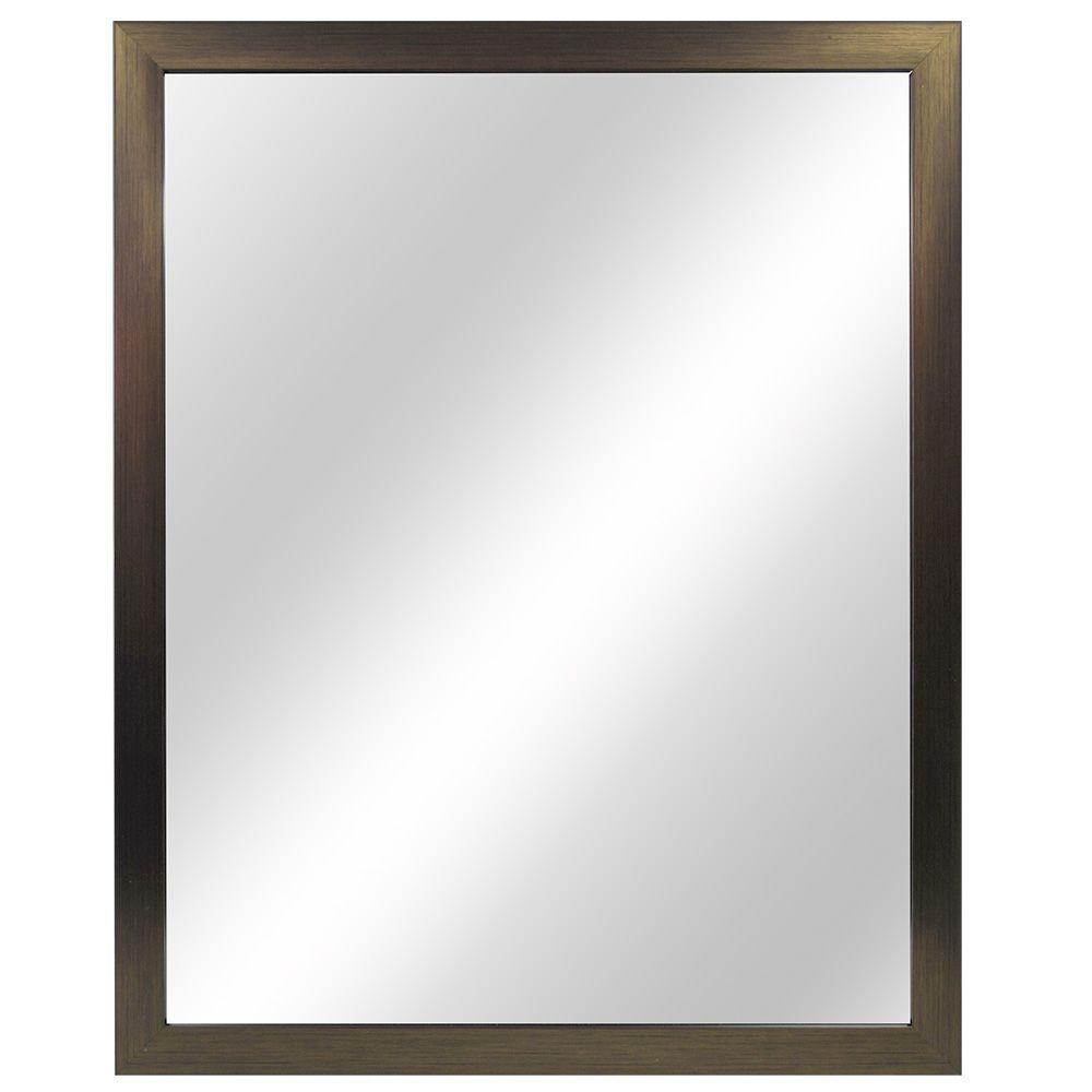 24 Inch Stick-Framed Mirror, Fog-Free