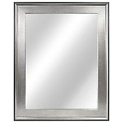 Home Decorators Collection Miroir a cadre en deux tons de 58,42cm (23po)