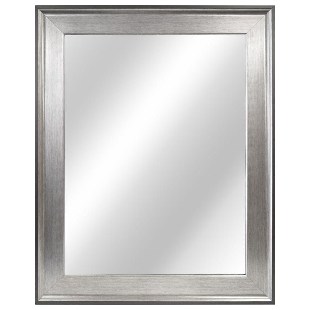 Miroir a cadre en deux tons de 58,42cm (23po)
