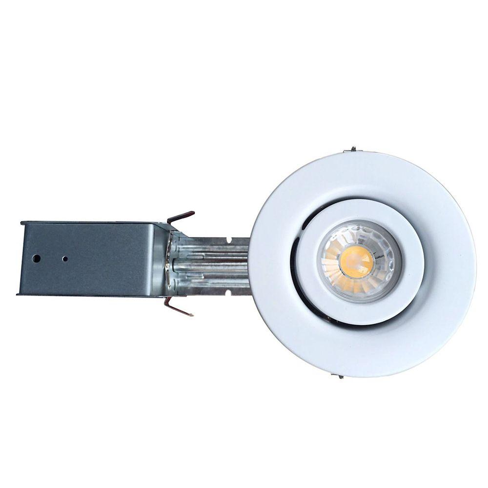 3 1/4 Inch GU10 LED Gimbal Trim Kit