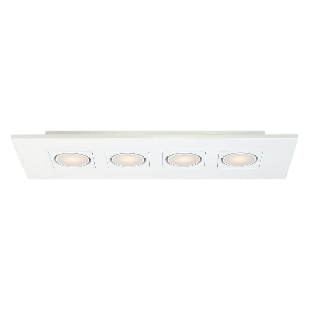 4 Light Linear LED Surface Mount