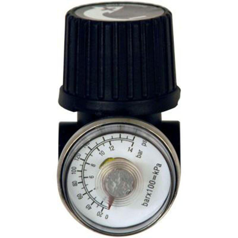 1/4 Inch Regulator With Gauge