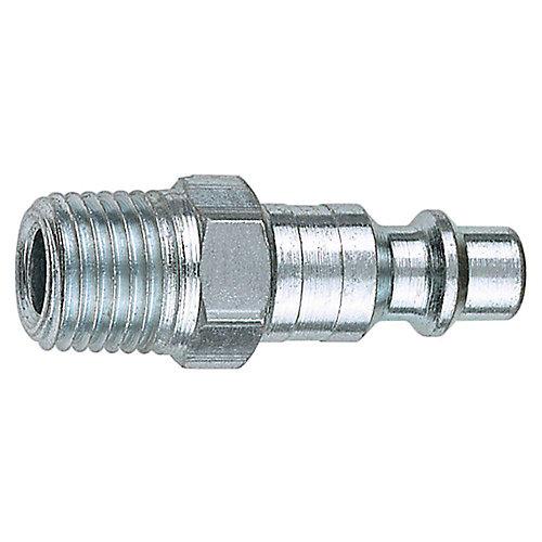 1/4-inch MNPT x 1/4-inch I/M Steel Plug